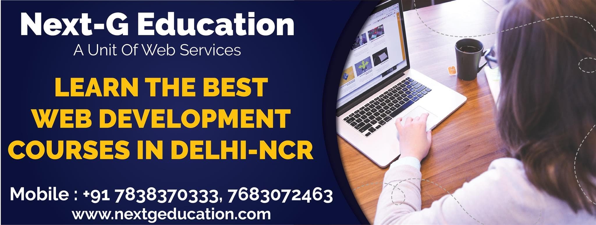 Learn the Best Web Development Courses in Delhi-NCR